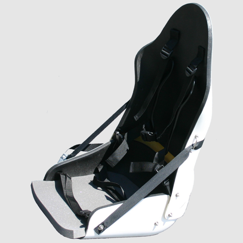 Tessier bucket seat for piloted Dualski or Tempo Duo bi-ski