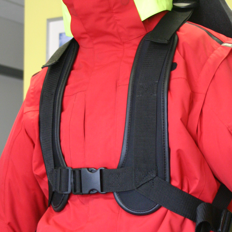 TESSIER sitski safety harness 4-point