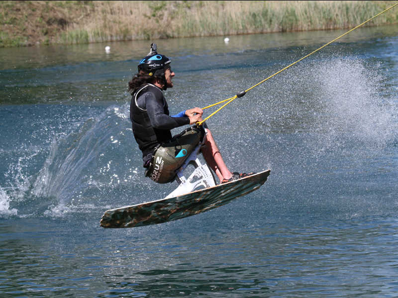 Full-Flex system > Amortissement des chocs / Adaptive Water Skiing