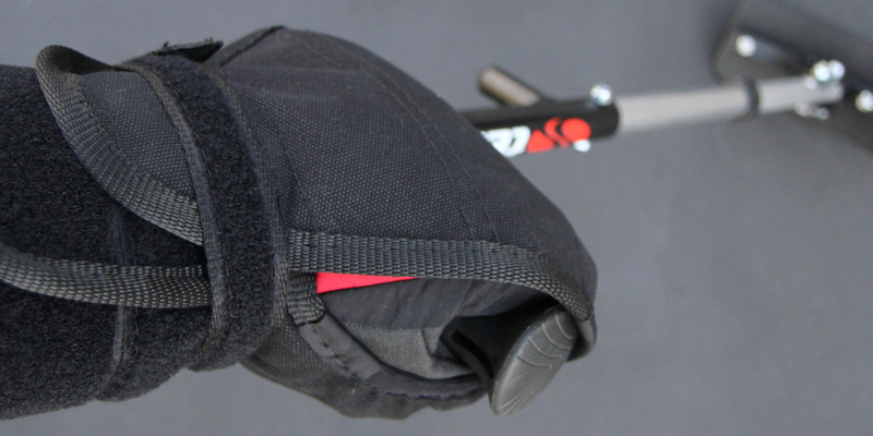 TESSIER Fix'Hand'Ski gloves for sitskiing independently