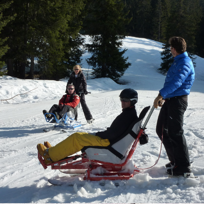 Tandem'Flex - Tandemski trainings by TESSIER sit ski