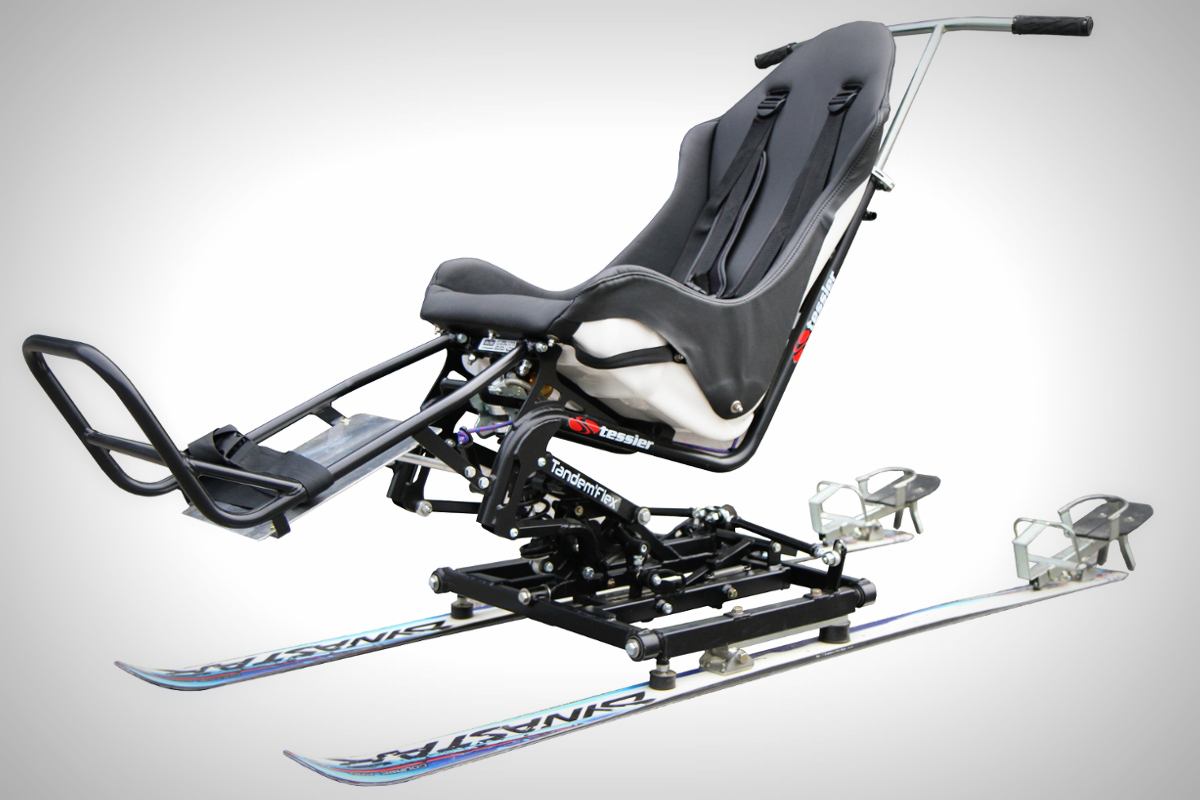 Tessier Tandem'Flex - A unique sitskiing product for everybody