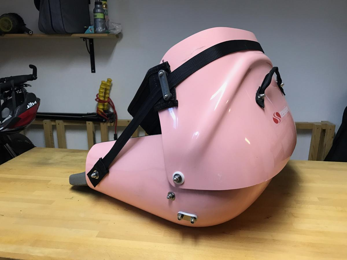 Second hand Pink Tessier seat