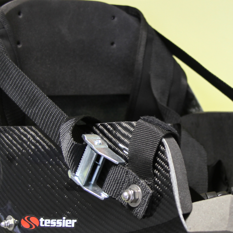 TESSIER sitski backrest adjustment with buckle