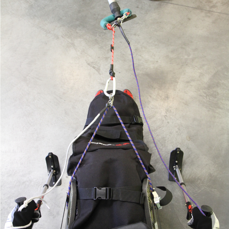TESSIER skilift harness system double safety
