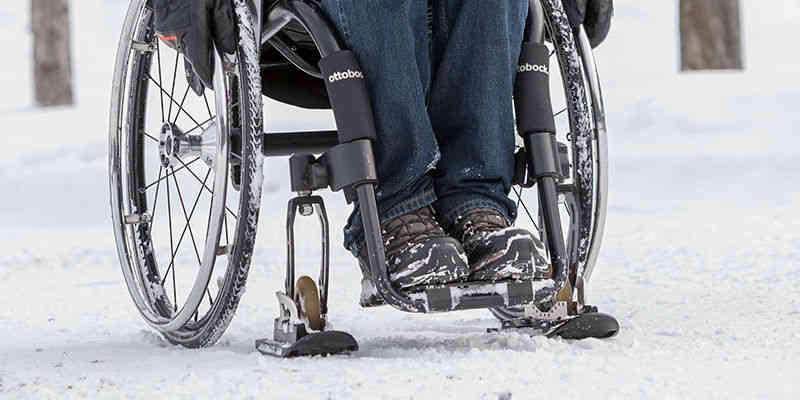 Wheeblades for wheelchairs